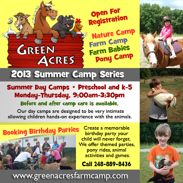 Livingston County Summer Camp Guide